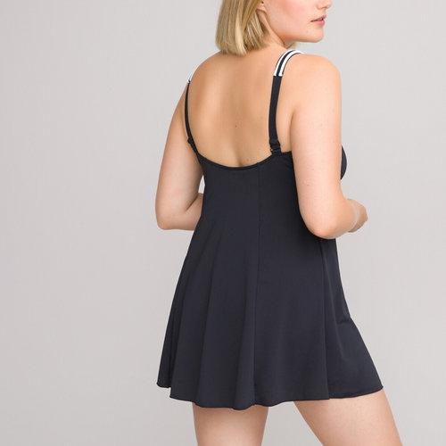 Μαγιό - Φόρεμα - Μαγιό - BLACK/WHITE