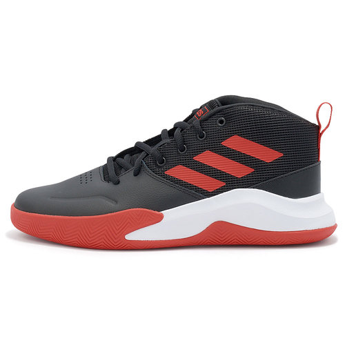 adidas Ownthegame K Wide - Αθλητικά - ΜΑΥΡΟ/ΚΟΚΚΙΝΟ