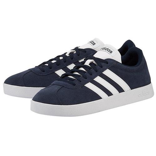 adidas Vl Court 2.0 - Sneakers - ΜΠΛΕ ΣΚΟΥΡΟ/ΛΕΥΚΟ