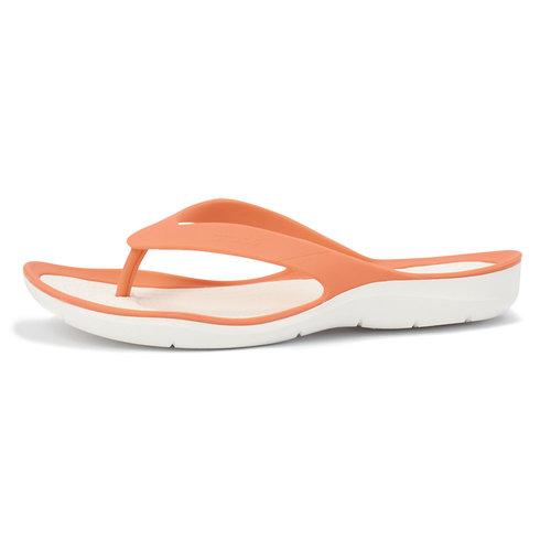 Crocs Swiftwater Flip W - Σαγιονάρες - ΚΟΡΑΛΙ