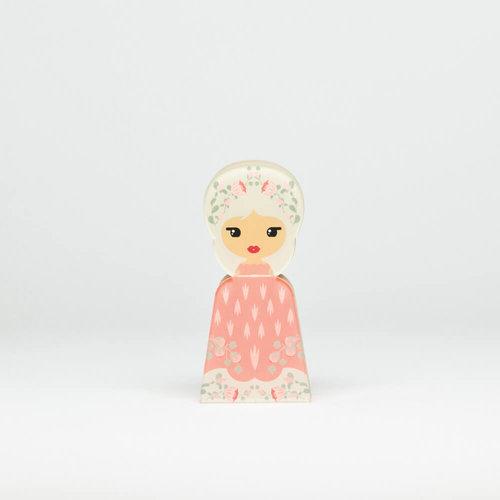 Lil'Ledy Figurine Flower Head Pink Kindness Small - Δώρα - ΔΙΑΦΟΡΑ ΧΡΩΜΑΤΑ