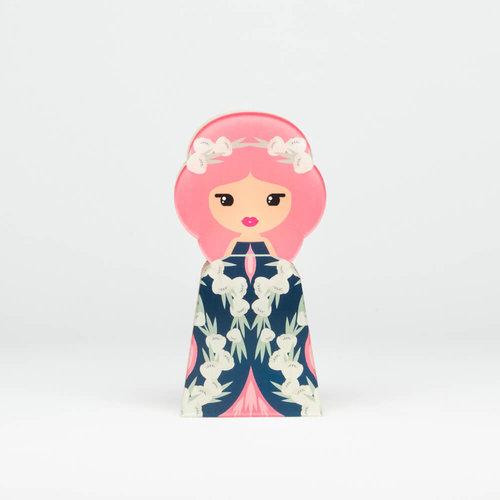 Lil'Ledy Figurine Flower Head Pink Unforgettable Medium - Δώρα - ΔΙΑΦΟΡΑ ΧΡΩΜΑΤΑ