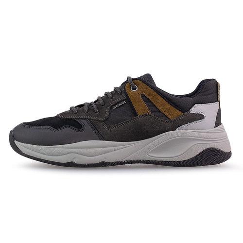 Geox U Tortona A - Sneakers - ΜΑΥΡΟ