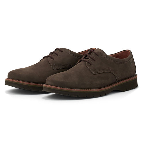 Clarks Bayhill Plain - Brogues & Loafers - ΚΑΦΕ ΣΚΟΥΡΟ