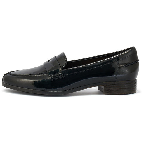 Clarks Hamble Loafer - Brogues & Loafers - ΜΑΥΡΟ