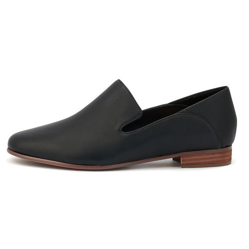 Clarks Pure Viola - Brogues & Loafers - ΜΑΥΡΟ