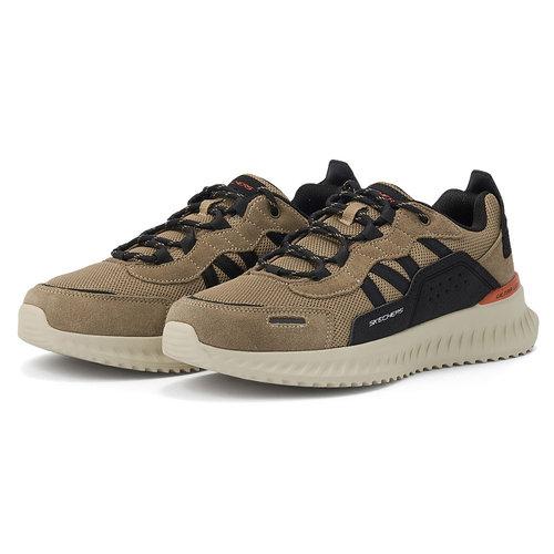 Skechers Matera 2.0 - Sneakers - ΜΠΕΖ/ΜΑΥΡΟ