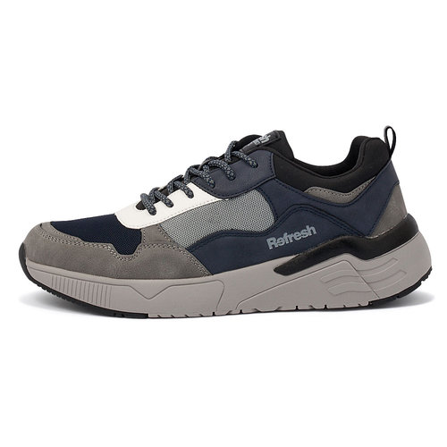 Refresh - Sneakers - ΓΚΡΙ/ΜΠΛΕ