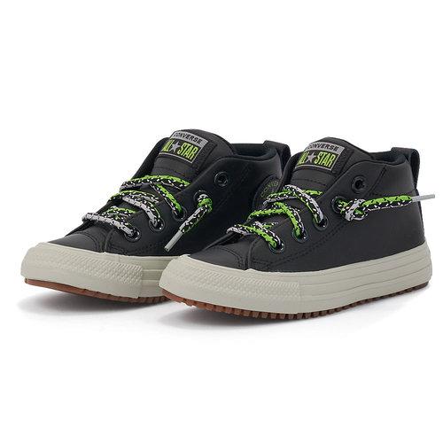 Converse Chuck Taylor All Star Street Boot - Μποτάκια - ΜΑΥΡΟ