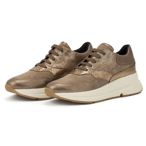 Geox D Backsie E - Sneakers - ΜΠΕΖ