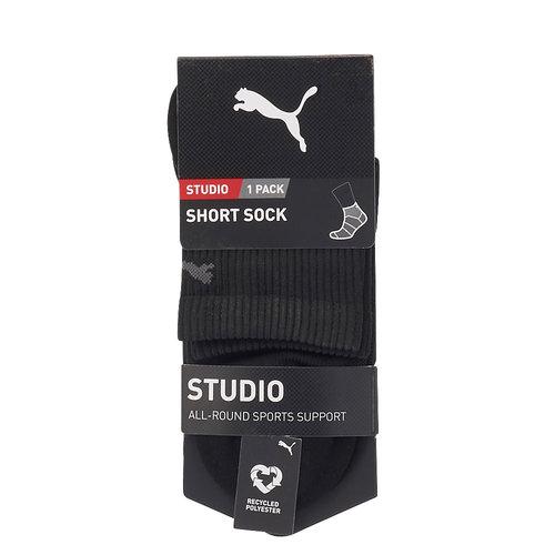 Puma Women Studio Short Καλτσα - Κάλτσες - ΜΑΥΡΟ