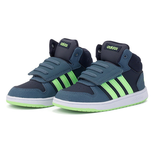 adidas Vs Hoops Mid 2.0 I - Αθλητικά - ΠΕΤΡΟΛ/ΜΑΥΡΟ