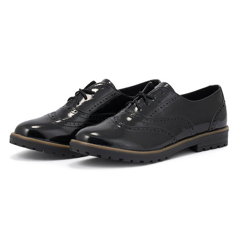 Sprox - Brogues & Loafers - ΜΑΥΡΟ