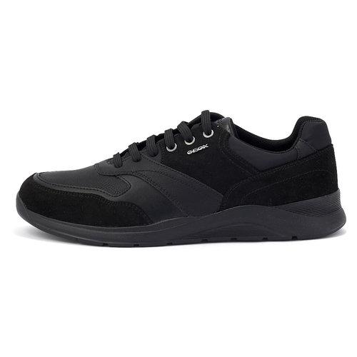Geox U Damiano C - Sneakers - ΜΑΥΡΟ