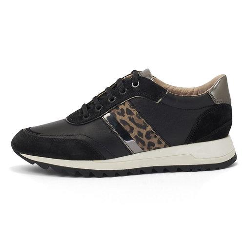 Geox D Tabelya A - Sneakers - ΜΑΥΡΟ