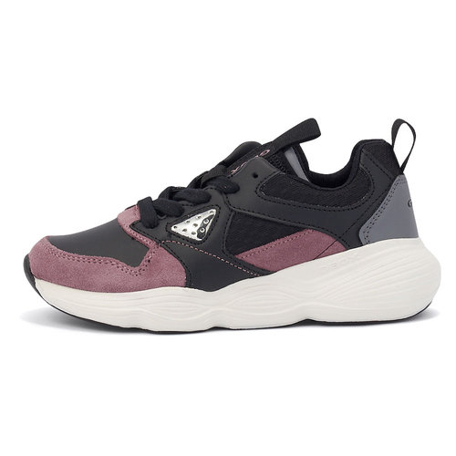 Geox J Bubblex G. B - Sneakers - ΜΑΥΡΟ/ΡΟΖ