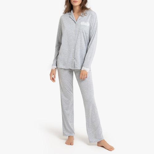Μακρυμάνικη πιτζάμα - Σύνολα Ύπνου - ΓΚΡΙ ΑΝΟΙΧΤΟ