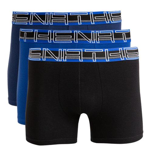 Σετ 3 μποξεράκια, Full Stretch - Εσώρουχα - BLUE + NAVY BLUE + BLACK