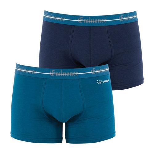 Σετ 2 μποξεράκια, Cocoricool - Εσώρουχα - NAVY + DUCK EGG BLUE