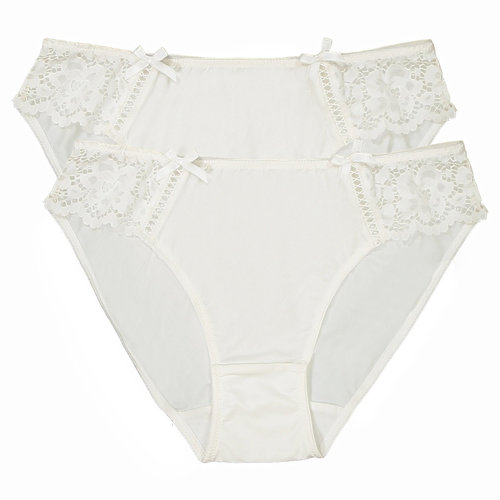 Pack of 2 Pairs of Lace and Microfibre - Εσώρουχα - ΙΒΟΥΑΡ