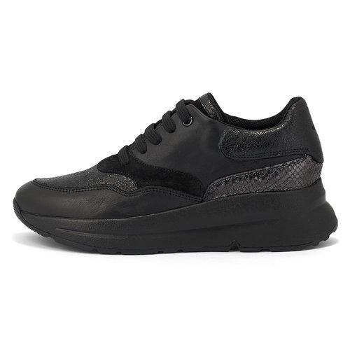 Geox D Backsie E - Sneakers - ΜΑΥΡΟ