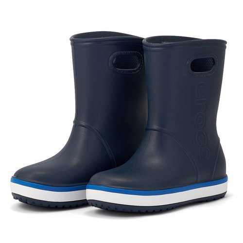 Crocs Crocband Rain Boot K - Γαλότσες - ΜΠΛΕ ΣΚΟΥΡΟ