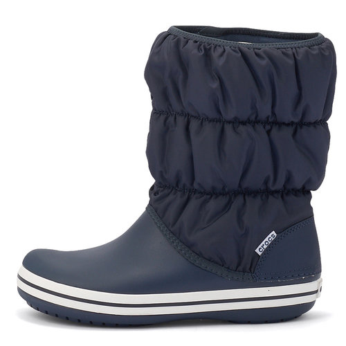 Crocs Winter Puff Boot - Γαλότσες - ΜΠΛΕ/ΛΕΥΚΟ