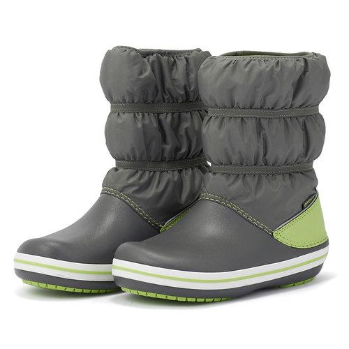Crocs Crocband Winter Boot K - Γαλότσες - ΓΚΡΙ