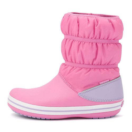Crocs Crocband Winter Boot K - Γαλότσες - ΦΟΥΞΙΑ