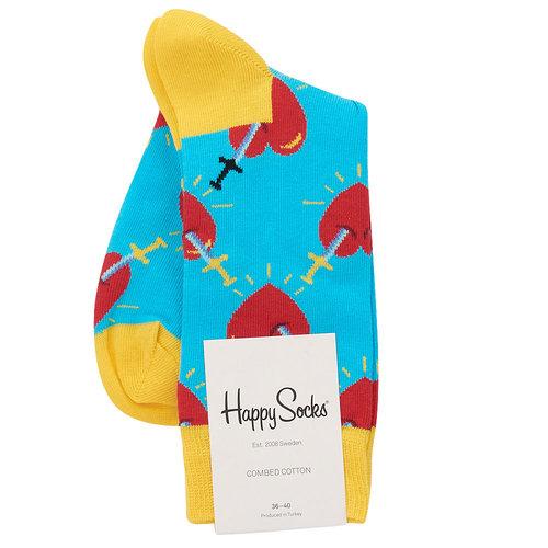 Happy Socks Broken Heart - Κάλτσες - ΔΙΑΦΟΡΑ ΧΡΩΜΑΤΑ