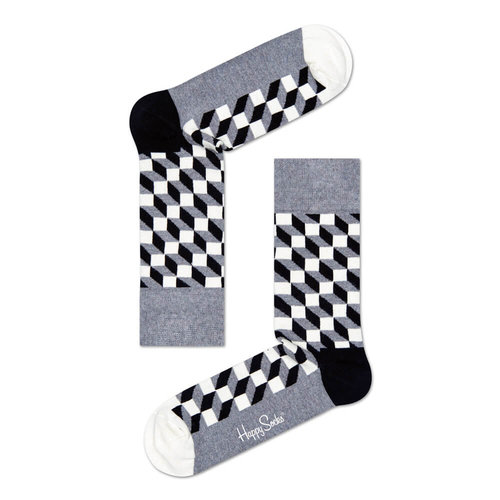 Happy Socks Filled Optic - Κάλτσες - ΔΙΑΦΟΡΑ ΧΡΩΜΑΤΑ