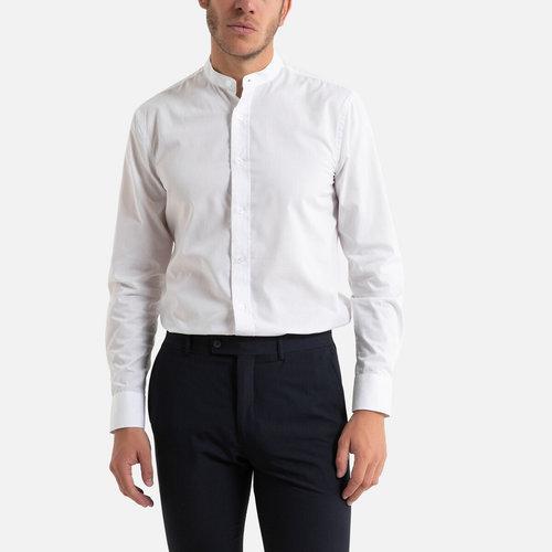 Μακρυμάνικο slim πουκάμισο - Μπλούζες & Πουκάμισα - ΛΕΥΚΟ