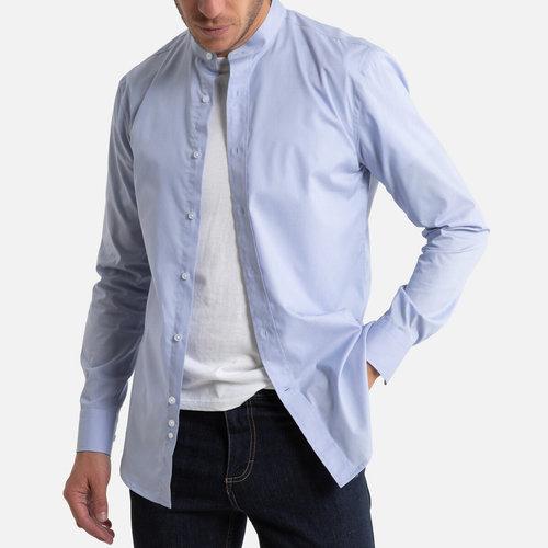 Μακρυμάνικο slim πουκάμισο - Μπλούζες & Πουκάμισα - ΓΑΛΑΖΙΟ