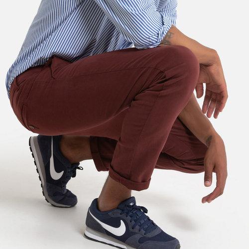 Παντελόνι chino σε γραμμή slim - Παντελόνια - ΜΠΟΡΝΤΟ ΚΟΚΚΙΝΟ