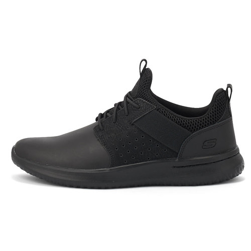 Skechers Delson - Axton - Sneakers - ΜΑΥΡΟ