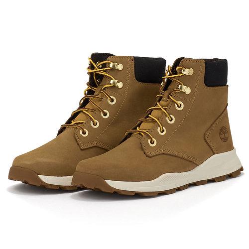 Timberland Brooklyn Snkr Boot Wht - Μποτάκια - ΚΙΤΡΙΝΟ