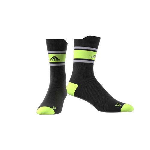 adidas Ask Sportblock - Κάλτσες - ΜΑΥΡΟ/ΛΑΧΑΝΙ