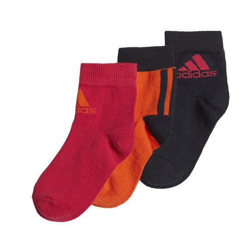 adidas Little Kids  Ankle 3Pp - Κάλτσες - ΔΙΑΦΟΡΑ ΧΡΩΜΑΤΑ