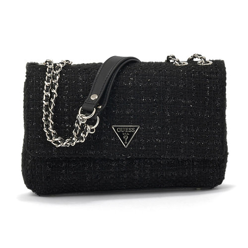 Guess Cessily Convertible Xbody Flap - Τσάντες - ΜΑΥΡΟ