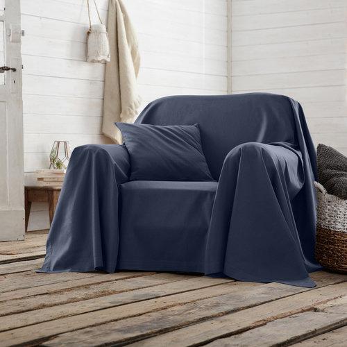 Ριχτάρι καναπέ ή πολυθρόνας - Διακόσμηση - ΜΠΛΕ ΜΕΛΑΝΟ