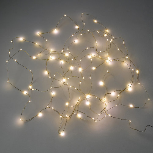 Φωτεινή γιρλάντα LED, Omara - Διακόσμηση - ΧΑΛΚΙΝΟ