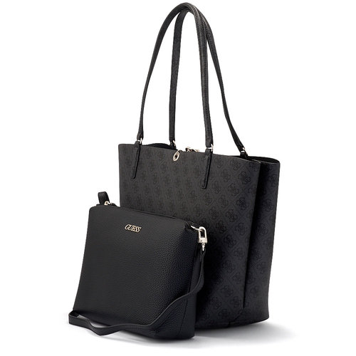 Guess Alby Toggle Tote - Τσάντες - ΜΑΥΡΟ