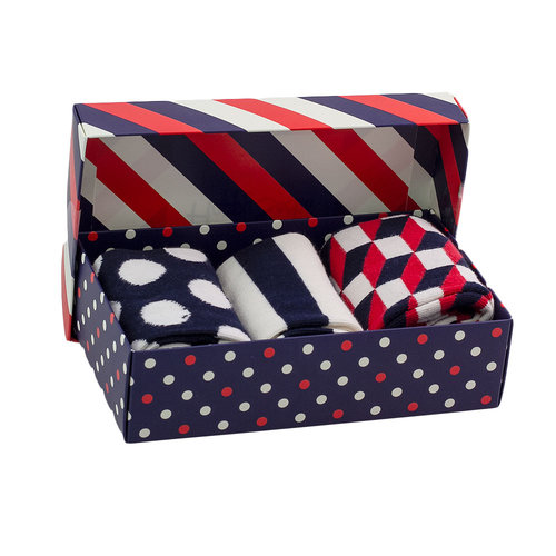Happy Socks Gift Box - Κάλτσες - ΔΙΑΦΟΡΑ ΧΡΩΜΑΤΑ