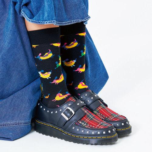 Happy Socks Hot Dog Dog - Κάλτσες - ΔΙΑΦΟΡΑ ΧΡΩΜΑΤΑ