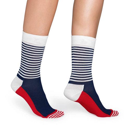 Happy Socks Half Stripe - Κάλτσες - ΔΙΑΦΟΡΑ ΧΡΩΜΑΤΑ
