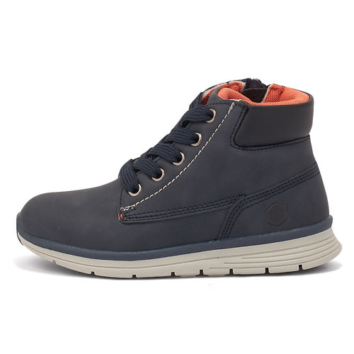 Lumberjack Alvis Ankle Boot Lace Nobesto - Μποτάκια - ΜΠΛΕ ΣΚΟΥΡΟ