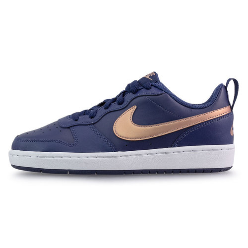 Nike Court Borough Low 2 (Gs) - Sneakers - ΜΠΛΕ ΣΚΟΥΡΟ