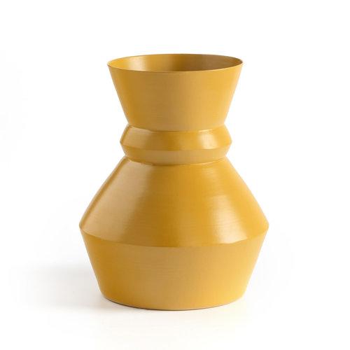 Μεταλλικό βάζο Anaοa - Διακόσμηση - ΣΑΦΡΑΝ ΚΙΤΡΙΝΟ