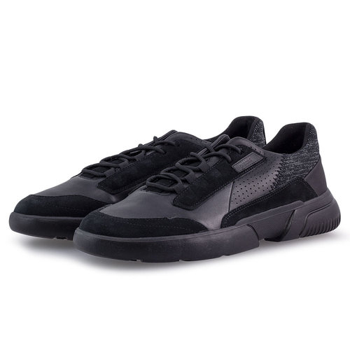 Geox U Smoother A - Sneakers - ΜΑΥΡΟ