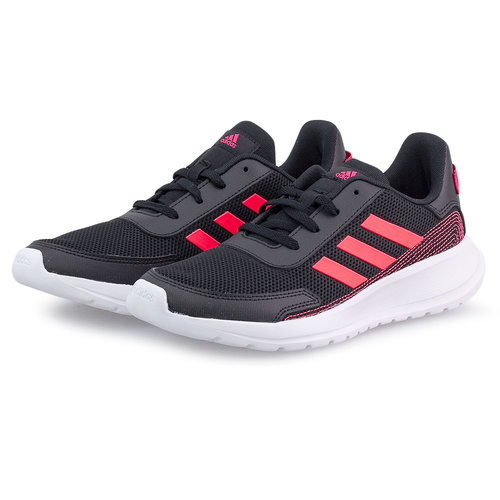 adidas Tensaur Run K - Αθλητικά - CORE BLACK/SIGNAL PINK